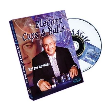 Elegant Cups And Balls by Rafael Benatar - DVD Bussolotti