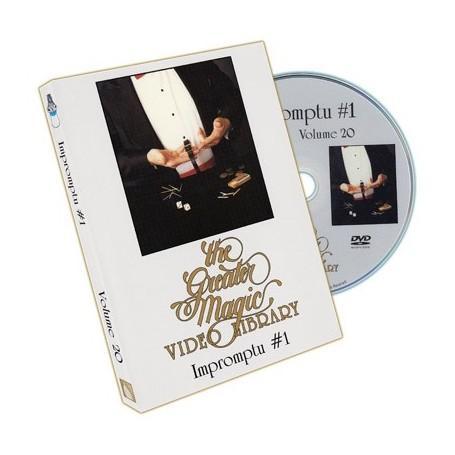 Greater Magic Volume 20 - Impromptu Magic Vol.1 - DVD