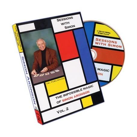 Sessions With Simon: The Impossible Magic Of Simon Aronson - Volume 2 - DVD