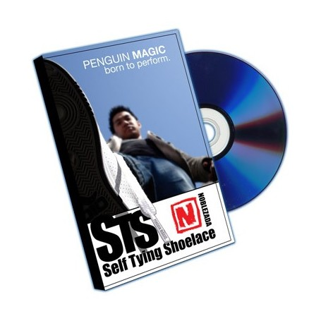 Self Tying Shoelace (DVD and Props) by Jay Noblezada - Trick