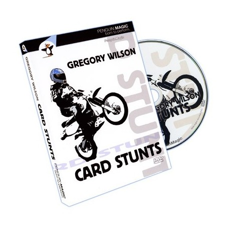 Card Stunts by Gregory Wilson - DVD