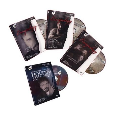 Escapology Volumes 1-3 + Bonus: Houdini Lives (4 DVD Set) by Dixie Dooley - DVD