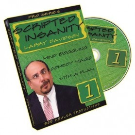 Scripted Insanity Volume 1 by Larry Davidson - DVD
