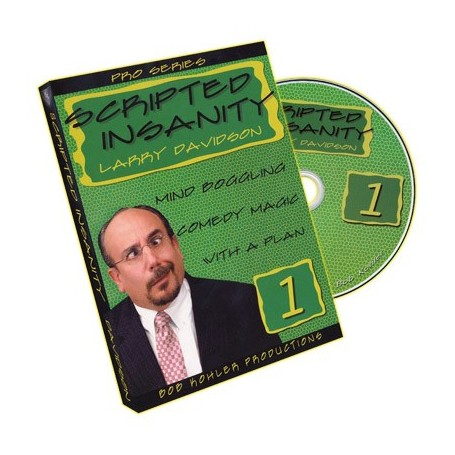 Scripted Insanity Volume 1 by Larry Davidson - DVD