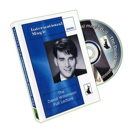 David Williamson Full Lecture by International Magic - DVD