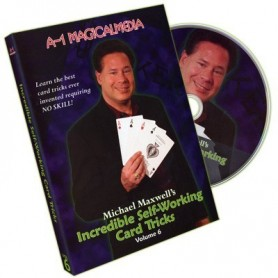 Incredible Self Working Card Tricks Volume 6 by Michael Maxwell - DVD