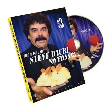 No Filler 3 by Magic of Steve Dacri - DVD
