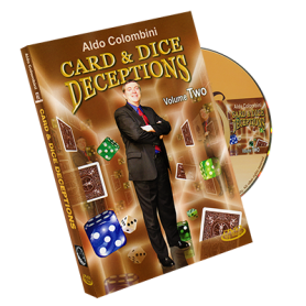 Card & Dice Deceptions Volume Two by Aldo Colombini - DVD