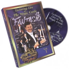 Lecturing Live At The Magic Castle Vol. 1 by Fantasio - DVD