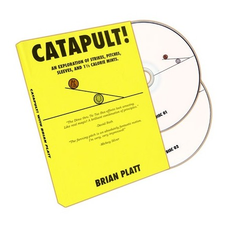 Catapult! (2 DVD set) by Brian Platt - Trick