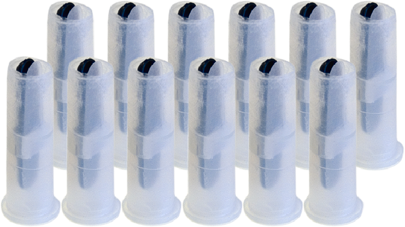 Squeaker Mouth Double-Voice - Medium (12 Pack) - Trick