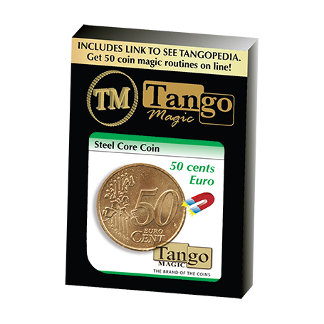 Steel Core Coin (50 Cent Euro) by Tango -Trick (E0022)