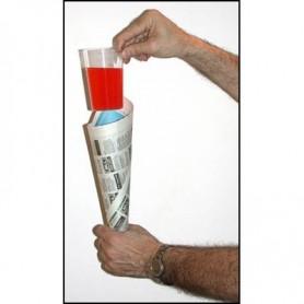 Comedy Glass in Paper Cone by Bazar de Magia- Trick