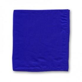 Foulard 30 x 30 cm single (Royal Blue) Magic by Gosh - Trick