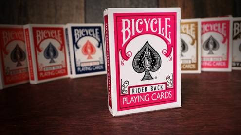 Bicycle Fuchsia Playing Cards by USPCC