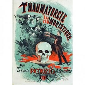 Patrizio Castiglione Poster ( 45 cm by 24 inch) designed by Jules Cheret - Trick