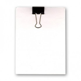 Clip Board (8.25 Inches X 11.75 Inches) by Uday - Trick
