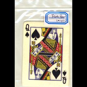 Carta Lampo Carta da Poker Regina di Picche (10 pezzi) - Trick