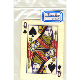 Flash Poker Card Queen of Spades (Ten Pack) - Trick