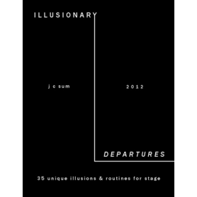 Illusionary Departures by JC Sum - Book