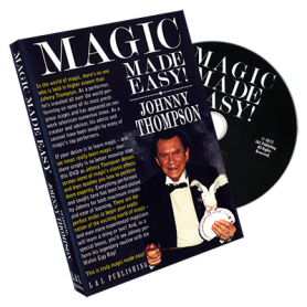 Johnny Thompson's Magic Made Easy by L&L Publishing - DVD