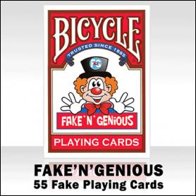 Fake 'N' Genious Deck by So Magic - Trick