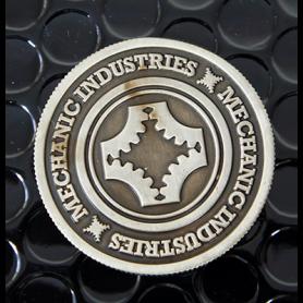 Full Dollar Coin (Gun Metal Grey) by Mechanic Industries - Trick