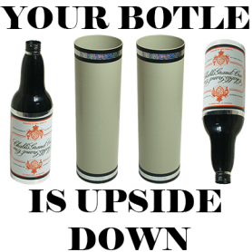 Your Bottle is Upside Down! by Tora Magic - Trick