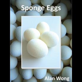 Sponge Eggs (4pk.) by Alan Wong - Trick