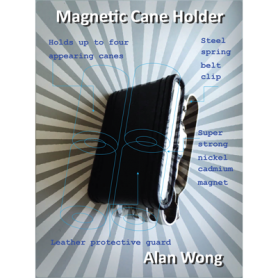 Magnetic Cane holder by Alan Wong - Trick