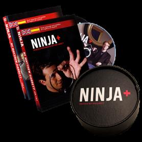 Ninja+ Deluxe BLACK (Gimmicks & DVD) by Matthew Garrett - Trick
