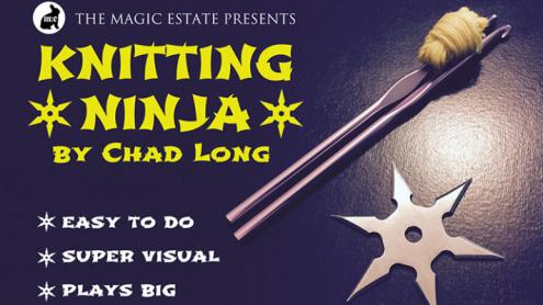 Knitting Ninja by Chad Long - Trick