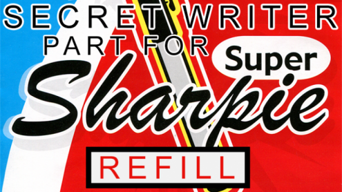 Secret Writer Part for Super Sharpie (Refill) by Magic Smith - Trick