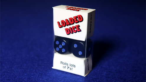 Loaded Dice (Weighted, Wood, Black) - Tricks