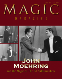 "Magic Magazine ""John Moehring"" June 2016 - Book"
