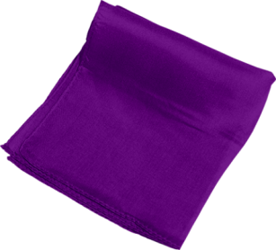 Foulard 45 x 45 cm (Violet) Magic by Gosh - Trick