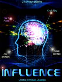 Influence (Blue) by Mickael Chatelain - Trick