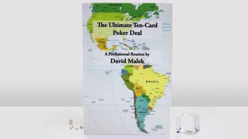 Ultimate Ten-Card Poker Deal by David Malek - Libro