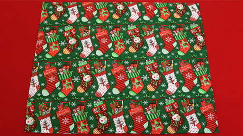 The Christmas Devil's Double Pocket Hanky by Ickle Pickle - Fazzoletto del Diavolo