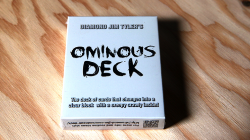 Ominous Deck (Scorpion) by Diamond Jim Tyler  - Trick