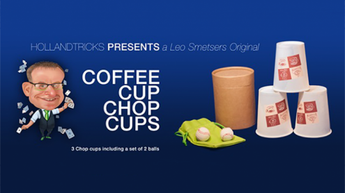 Coffee Cup Chop Cup (3 cups and 2 balls) by Leo Smetsers - Trick