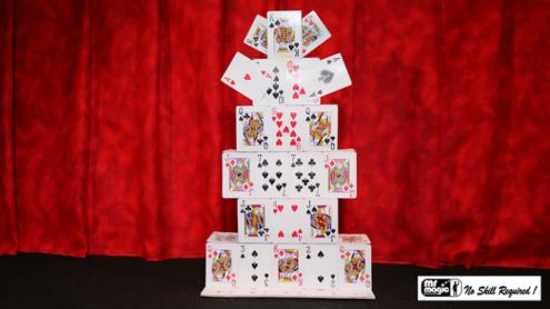Castello di Carte Junior by Mr. Magic - Trick