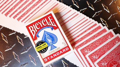 Bicycle Standard Red Poker Cards (New Box)