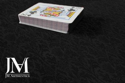 Close Up Pad (61  x 36 cm) Black Thistle Print by JM Authentics - Trick