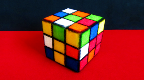 Sponge Rubik's Cube by Alexander May - Trick