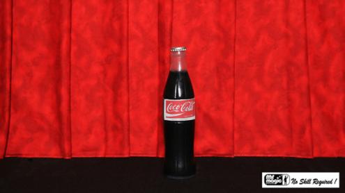 Bottiglia Coca Cola in lattice morbido by Premium Magic - Trick