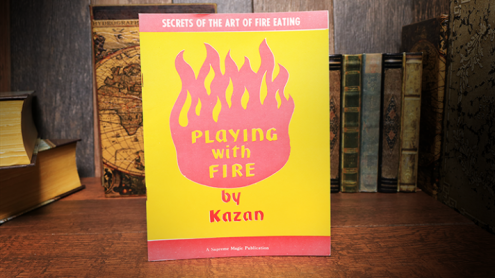 Playing with Fire (Rare/Limited) by Kazan - Libro