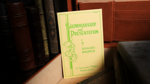 Showmanship and Presentation by Edward Maurice - Libro
