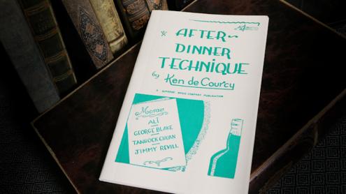 After Dinner Technique by Ken de Courcy - Book