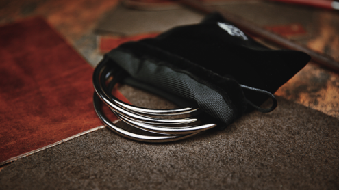 Linking Rings 10 cm (Chrome) by TCC - Anelli cinesi